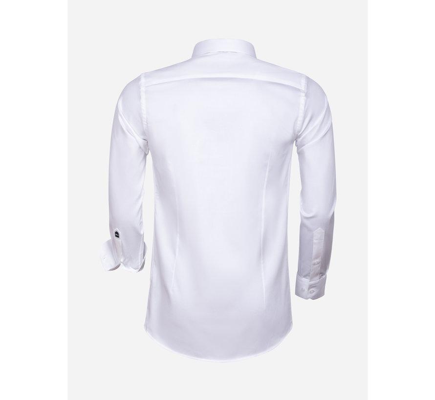 Overhemd Lange Mouw 75595 White