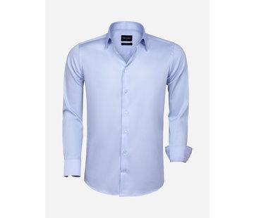 Wam Denim Overhemd Lange Mouw 75595 Blue