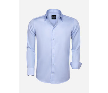 Wam Denim Shirt Long Sleeve 75595 Blue