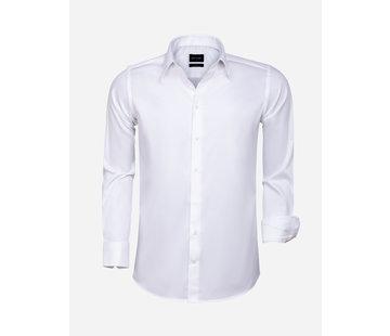 Wam Denim Shirt Long Sleeve 75595 White