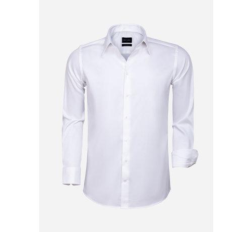Wam Denim Overhemd Lange Mouw 75595 White