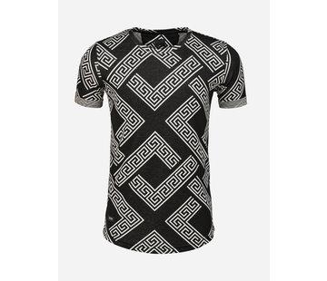 Arya Boy T-Shirt Aubonne Black White