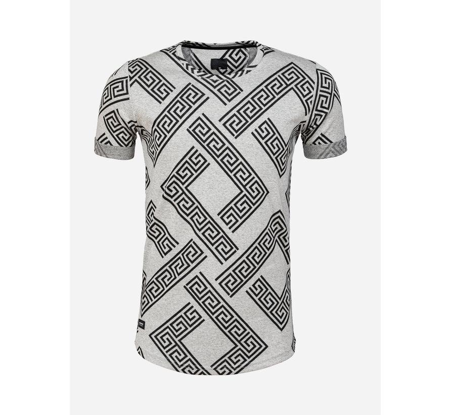 T-Shirt Aubonne Black Grey