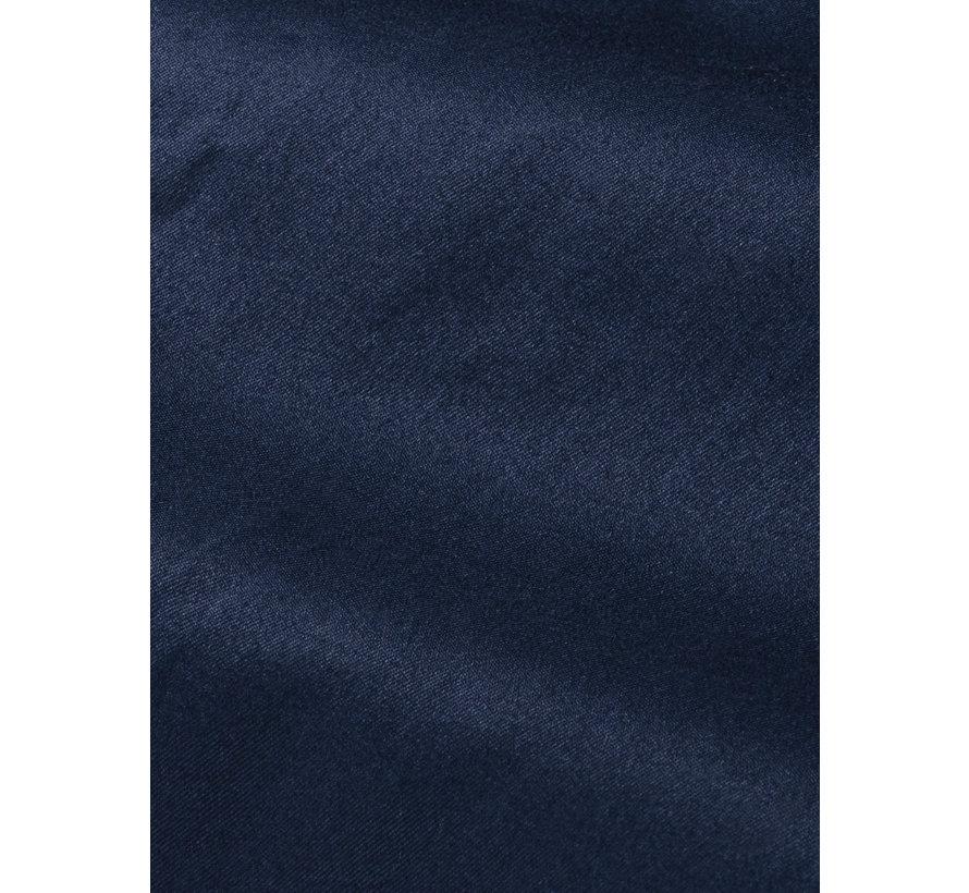 Shirt Short Sleeve Emble Navy