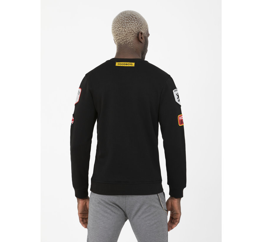 Sweater 86227 Huttwil Black