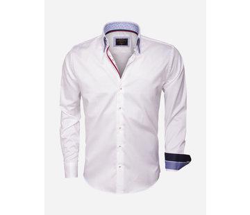Wam Denim Shirt Long Sleeve 75406 White