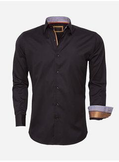 Wam Denim Overhemd Lange Mouw 75418 Black