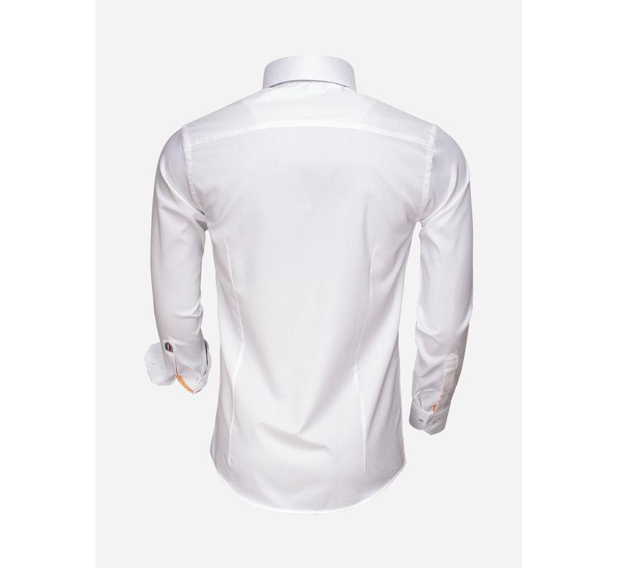 Overhemd Lange Mouw 75498 White