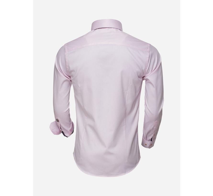 Overhemd Lange Mouw 75498 Pink