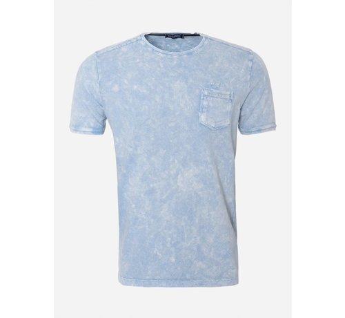 Wam Denim T-Shirt 188 Licht Blauw