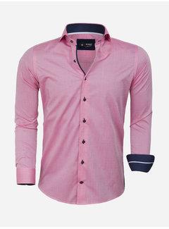 Arya Boy Overhemd Lange Mouw 85292 Evora Pink