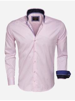 Wam Denim Overhemd Lange Mouw 75408 Pink