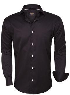 Wam Denim Overhemd Lange Mouw 75331 Black