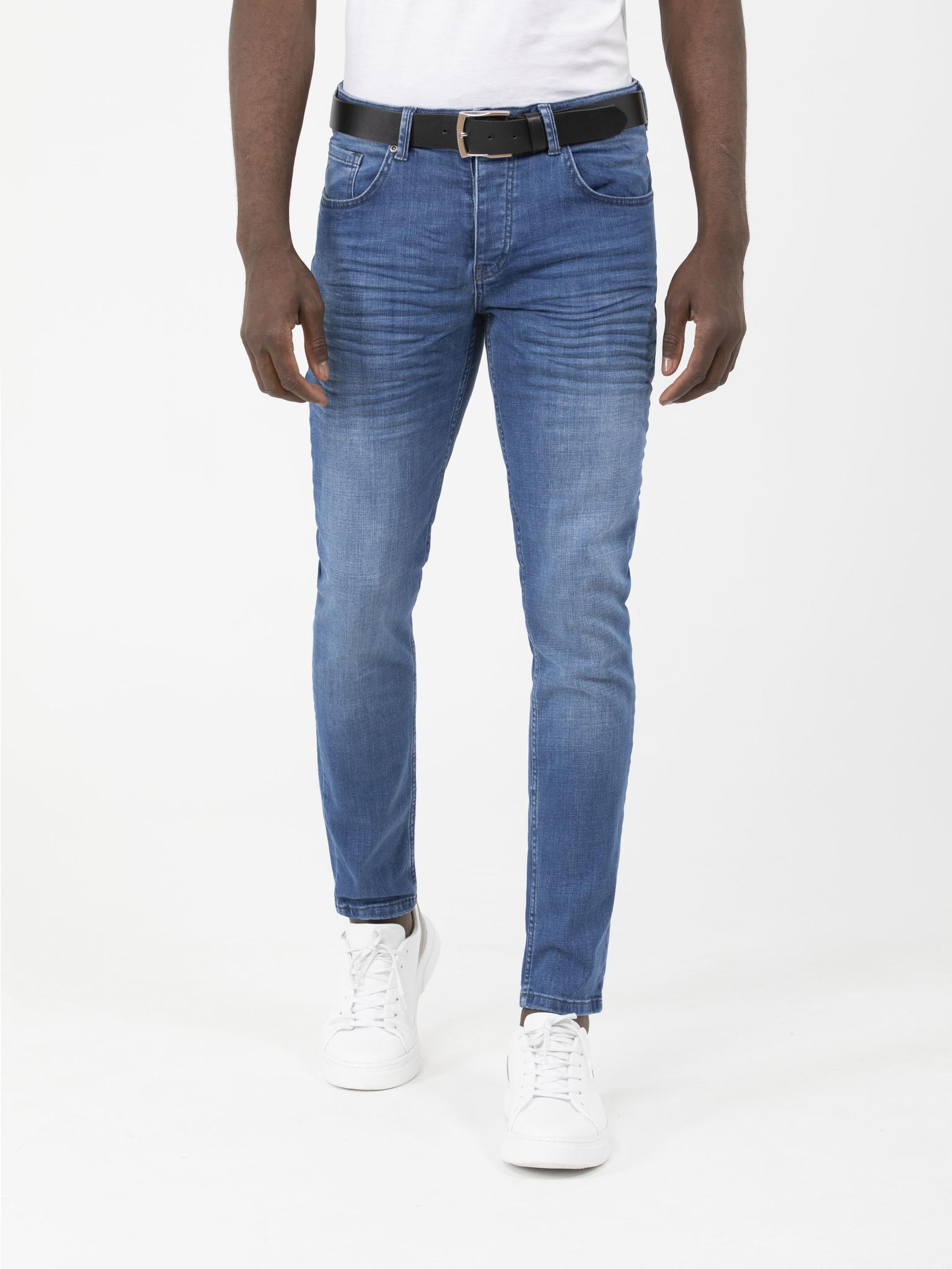 Arya Boy Jeans Erig Light Blue Maat: 33/30