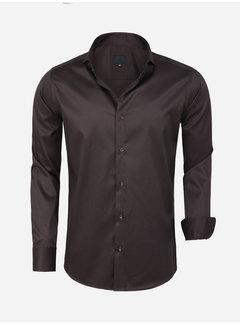 Arya Boy Shirt Long Sleeve Lagos Brown