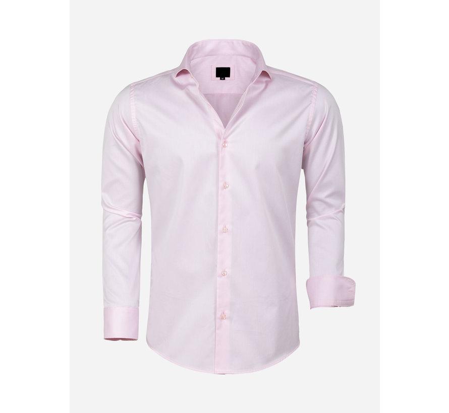Overhemd Lange Mouw Lagos Pink