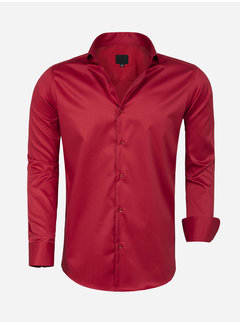 Arya Boy Overhemd Lange Mouw Lagos Red