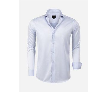 Arya Boy Overhemd Lange Mouw Lagos L.Blue