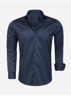 Arya Boy Shirt Long Sleeve Lagos Navy