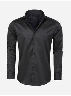 Arya Boy Shirt Long Sleeve Lagos Black