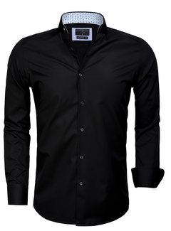 Gaznawi Overhemd Lange Mouw 65006 Black