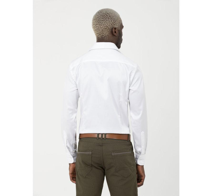 Overhemd Lange Mouw Lagos  White