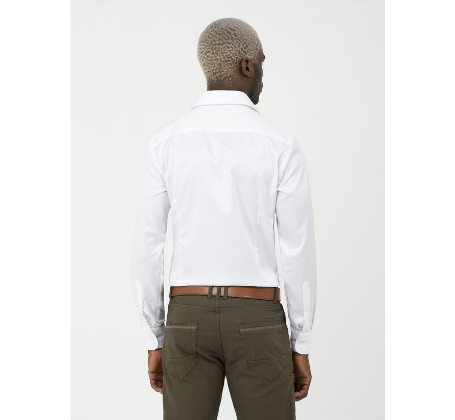 Shirt Long Sleeve Lagos White