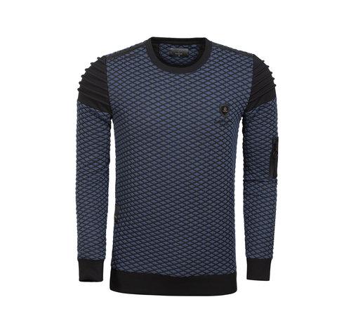 Wam Denim Sweater  66084 Navy