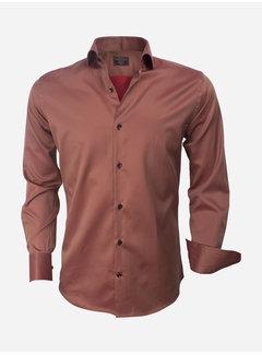 Wam Denim Shirt Long Sleeve  75427 Brown