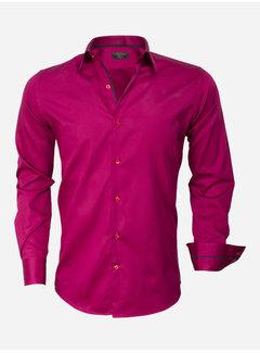 Wam Denim Overhemd Lange Mouw 75442 Fuchsia