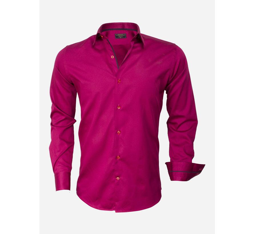 Overhemd Lange Mouw 75442 Fuchsia