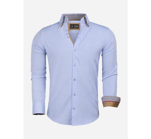Arya Boy Overhemd Lange Mouw 85291 Estremoz Blue
