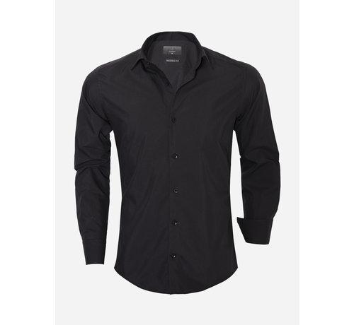 Gaznawi Overhemd Lange Mouw 65008 Black