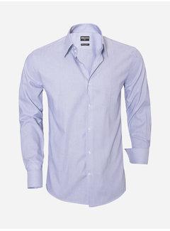 Wam Denim Overhemd Lange Mouw 75501 Navy
