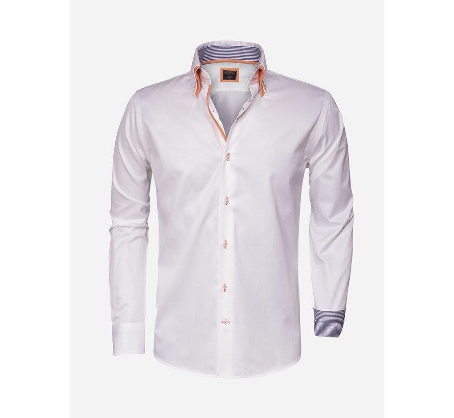 Overhemd Lange Mouw 75243 White