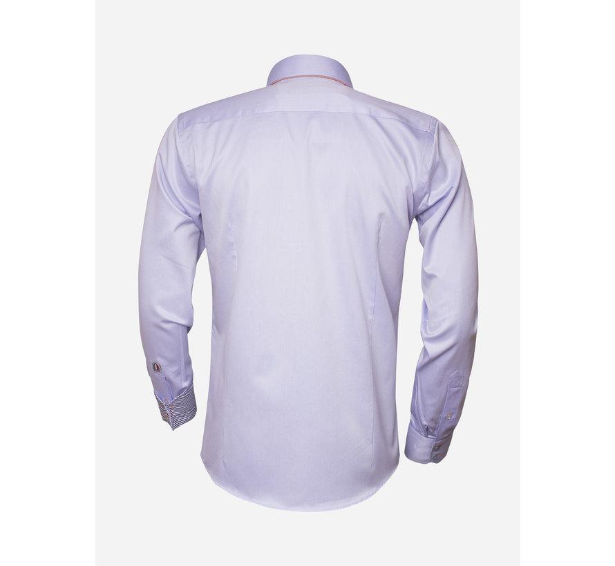 Overhemd Lange Mouw 75243 Light Blue