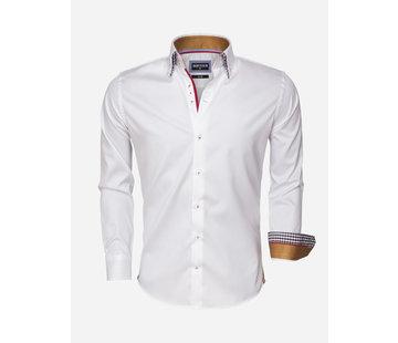 Wam Denim Overhemd Lange Mouw 75470 White