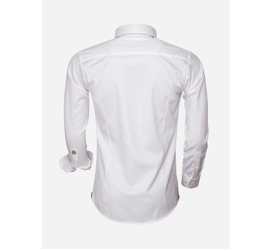 Overhemd Lange Mouw 75470 White