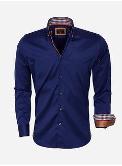 Wam Denim Overhemd Lange Mouw 59004 Navy