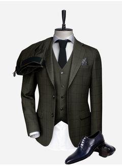 Wam Denim Kostuum 70023 Khaki Navy