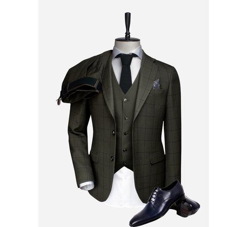Wam Denim Pantalon 70023 Khaki Navy