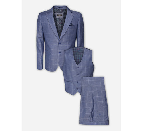 Wam Denim Kostuum 70014 Indigo
