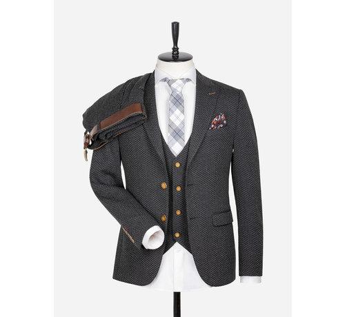 Wam Denim Jacket 70041 Crotone Black Anthracite