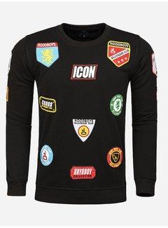 Arya Boy Sweater 86227 Huttwil Black