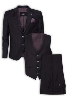 Wam Denim Jacket 70009 Black