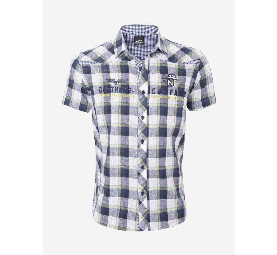 Overhemd Korte Mouw  12Y5238 Green