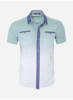 Arya Boy Overhemd Korte Mouw  13Y856 Green