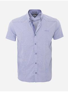 Arya Boy Overhemd Korte Mouw 13Y858 Blue