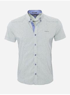 Arya Boy Overhemd Korte Mouw 13Y858 Groen