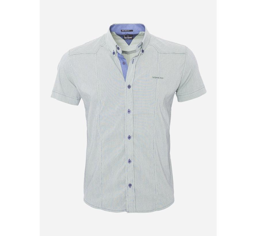 Overhemd Korte Mouw 13Y858 Groen